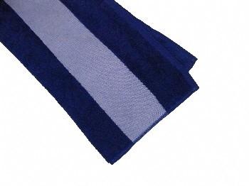 Grzybowski Kg Frottier Handtuch Blau Mit Sublimationsborte 47x100cm