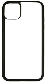 Bild von  iPhone 11 SC black-Softrand Cover mit Subli Fotometall