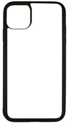 Bild von iPhone12proMax SC Softrand Cover black mit Subli Fotometall TPU