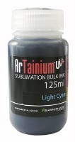 Bild von Light Cyan ArTainium UV+ 125ml Sublimationstinte
